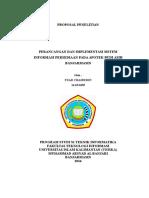 Proposal Penelitian Sistem Informasi Apotek