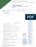 Ppsc Zilledar Past Paper