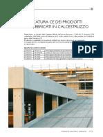 Marcatura CE Prodotti Pref Cls Da IMC18 2011