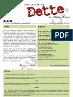 La lettre de CADTM France du 18 juin 2010