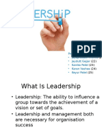 Ob Leadership Theory