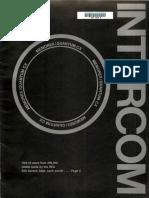 Magazine Memorex Intercom 1