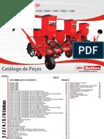 Catálogo de Peças Plantadeira PLB Directa