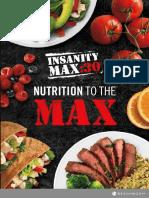 InsanityMax30 NutritionGuide NutritionToTheMaxNutritionGuide NoTimeToCookGuide