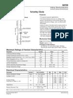Diode BAT86 (Data Sheet)