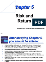 Risk and Return L 5