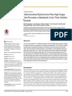 Mitochondrial Dysfunction Plus High-Sugar