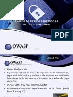 Analisis de Riesgo Usando La Metodologia OWASP