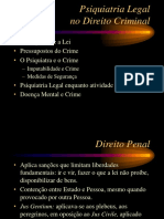 Psiq Legal e Direito Criminal - Sander Fridman