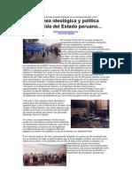 Estado peruano genocida