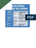 Uso Do Hífen