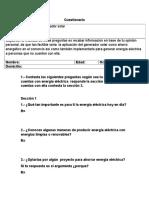 Jorge Cuestionario