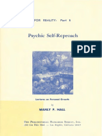 Psychic Self-reproach - Manly Palmer Hall