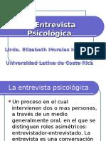 La entrevista psicológica.ppt