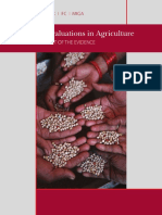 BM (2011) Impact Evaluation in Agricultural Interventions