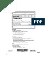 Edexcel GCE Chemistry Unit 1