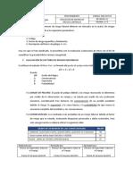 Procedimiento Para Aplicación de Matriz de Riesgos Laborales MRL