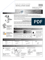 Guia Fluxometro Pedal Para WC 310-32