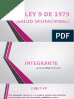 Diapositivas Ley 9 de 1979 Jessica