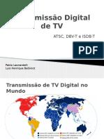 Transmissão Digital de TV