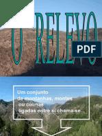 Relevo Rios Serras
