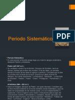 presentacion periodo sistematico