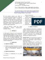 IEE Puente grúa-Banda Transportadora