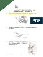 Actividad N° 02. Descomposición Rectangular de un vector en el Plano y en el Espacio. Física I. USMP. Ciclo 2014 - I
