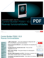 PS501 V2.0 Nuevas Funcionalidades