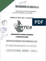 Directiva Para Liquidacion de Obras