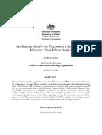 Application of XRF Oxford X-twin