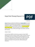 Singel Park Winning Proposal