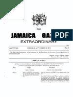 Gazette Amendments to the CPR