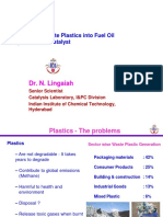Dr-Lingaiah Catalyst Work on Polymer Technology HaritaNTI