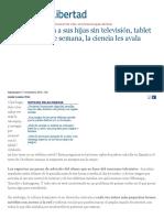 Los Reyes Dejan a Sus Hijas Sin Televisión, Tablet Ni Internet Entre Semana