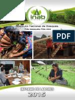 Informe de Labores INAB 2015