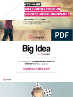Onopia - Webinaire Quels outils pour un business model innovant