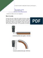Flex22 - Sensor for Bending
