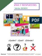 Pronombres interrogativos ¿Quién_,¿Qué_ y ¿Dónde_ - BEBER.doc