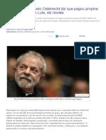 Em Delação, Marcelo Odebrecht Diz Que Pagou Propina Em Dinheiro Vivo a Lula, Diz Revista _ Congresso Em Foco