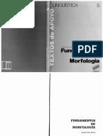Fundamentos de Morfologia (Varela)