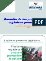 Garantia Para Los Productos Organicos