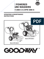 Instrucciones Mantenimiento GPW-3000