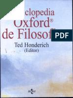 Enciclopedia Oxford de Filosofia-TH