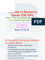1.0 Intro to Geomatics