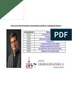 Índice de artículos que Arturo Peraza escribió durante la CG36