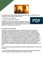 técnicas de control contra incendios