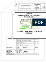 "Informe 2 - ""Curva Característica de La Bomba"""