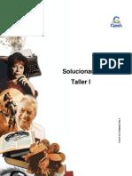Solucionario Clase 4 Taller I 2016