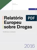 A DROGA NA EUROPA RELATÓRIO 2016 E-BOOK European Drug Report2016